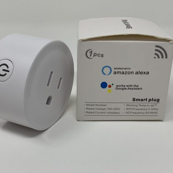 Tincman Wifi Smart Outlet Timer (Works with Alexa)