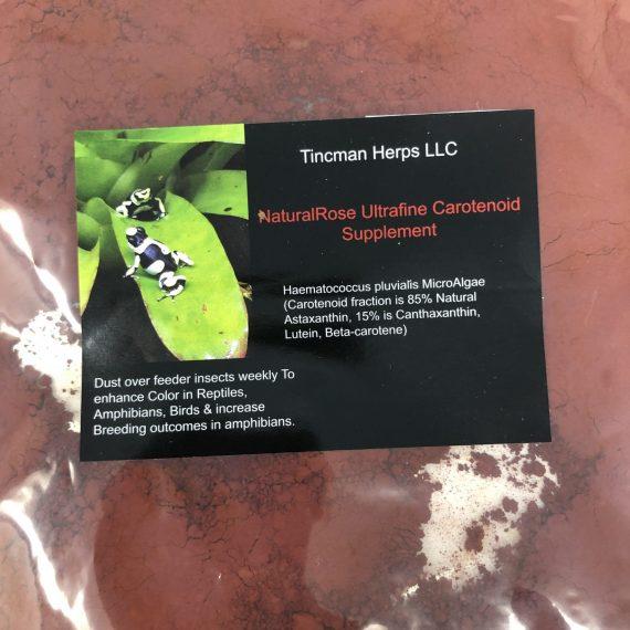 Tincman Herps Ultrafine NaturalRose Carotenoid 2oz