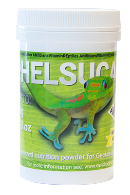 *NEW* Phelsucare Complete Lizard (Gecko/chameleon) Supplement (Lg 100 Grm)